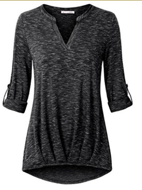 Stylish and comfortable tunic top. Tunic top, plus size too