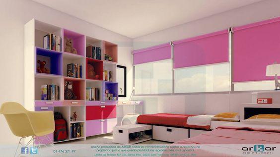 pink - nenas - recamara