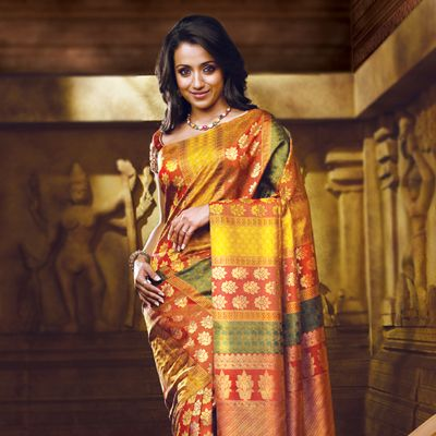 Printed wedding sarees online