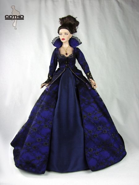 "Outfit Regina, Evil Queen, Inspired by ""Once Upon a Time"", Creations COTHO"