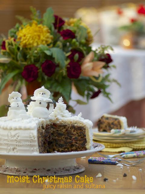 Indonesian Medan Food: The Most Moist Christmas Cake