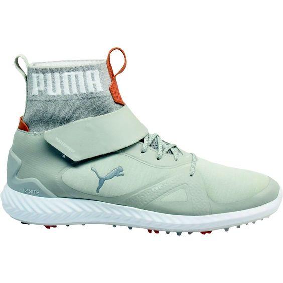 Golf Shoes Puma Golf Mens Ignite Pwradapt Hitop Golf Shoe Gray