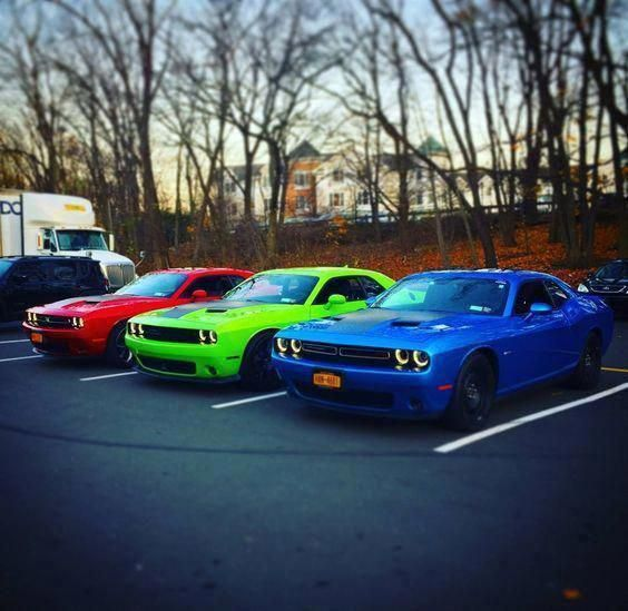 Wow What A Colourful Rainbow Dream Car Dodge Challenger Dodgechargerclassiccars Muscle Cars Dodge Challenger Dodge Challenger Hellcat