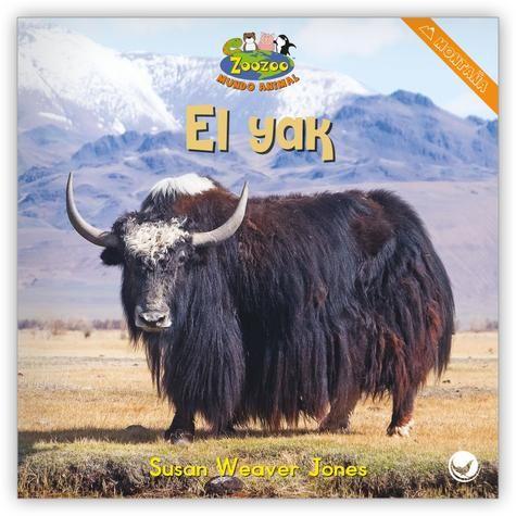 El Yak Spanish Learning Activities Animal Book Animals