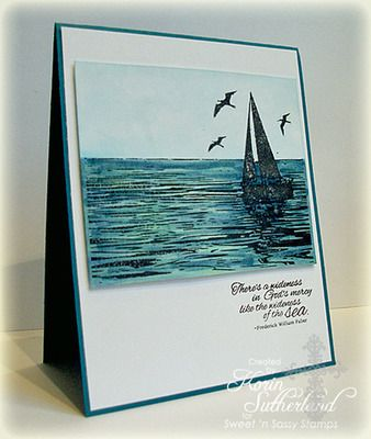 The Sea Clear Stamp Set - Sweet 'n Sassy Stamps LLC