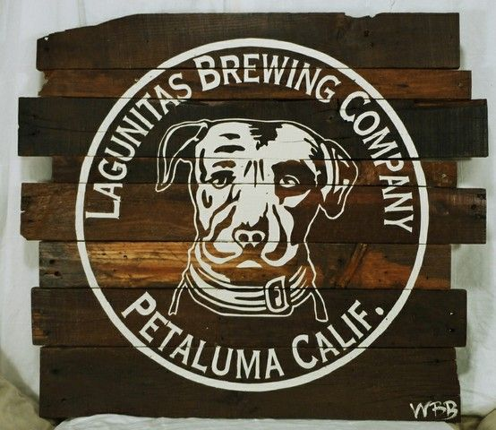 Wood Sign Design Ideas pallet art and pallet crafts ideas pic wood sign pallet sign pallet art fruits of the jnmrusticdesigns Rustic Lagunitas Brewing Company Wood Sign Hand Painted Beer Logo On Pallet Wood By