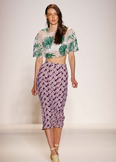 Noon by Noor does California Tropical. #SS14