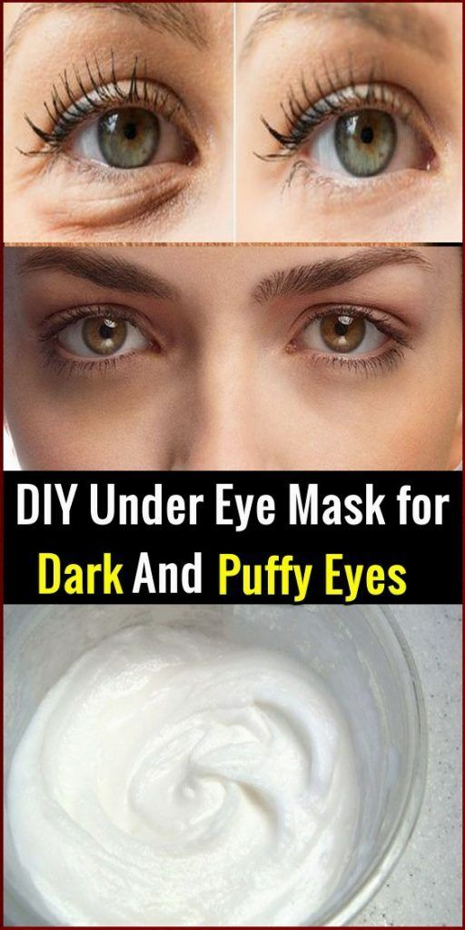 Diy Under Eye Mask For Dark And Puffy Eyes Skin Name Skin