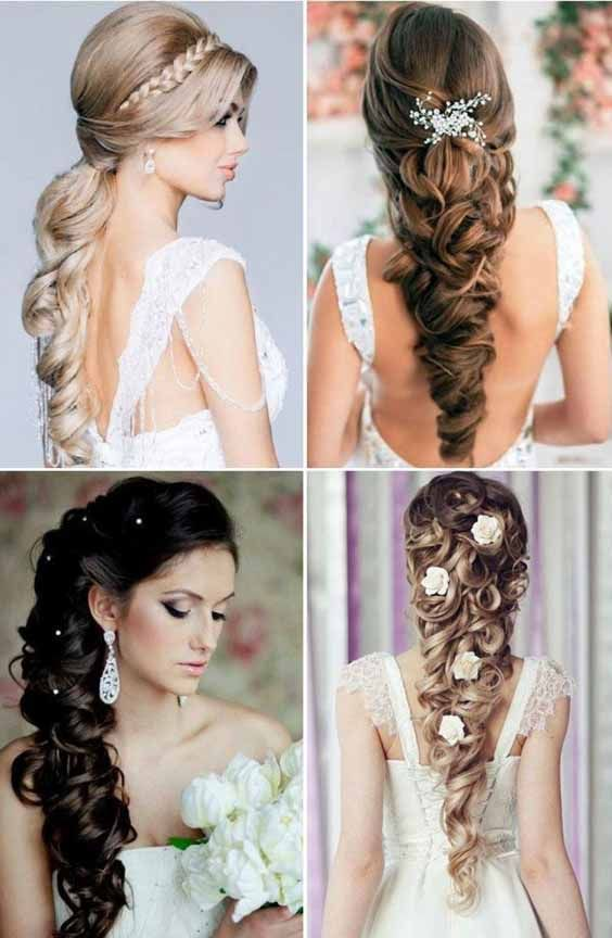 11 Unique And Different Hairstyles For Girls For A Head Turning Effect Long Hair Wedding Styles Wedding Hairstyles Bride Hairstyles For Long Hair