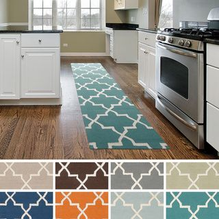 Artistic Weavers Hand-tufted Lisa Moroccan Tiled Wool Area Rug (2'3 x 14') - Overstock™ Shopping - Great Deals on Artistic Weavers Runner Rugs