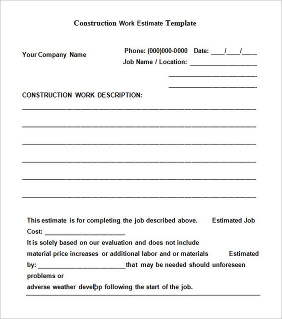 Printable Sample Rental Contract Template Form  Rent House