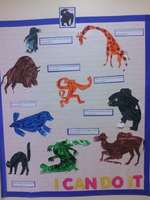 from head to toe coloring pages - eric carle and orteil on pinterest