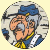 Caricature de Raoul Cauvin (Achdé).