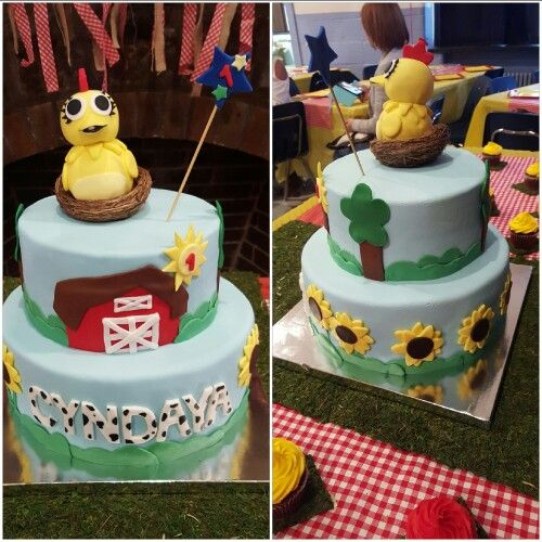 Chica~Sprout cake