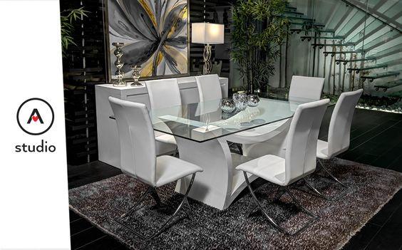 Pasión por muebles y objetos decorativos actuales  Comedores