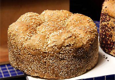 <p>Se você tá deprimido, indisposto, tenso, ansioso, pode ser que faltem vitaminas do Complexo B no seu organismo. Experimente comer menos alimentos industrializados e quem sabe este pão não ajude sua alegria e a disposição a voltar? PÃO INTEGRAL Ingredientes:…</p>