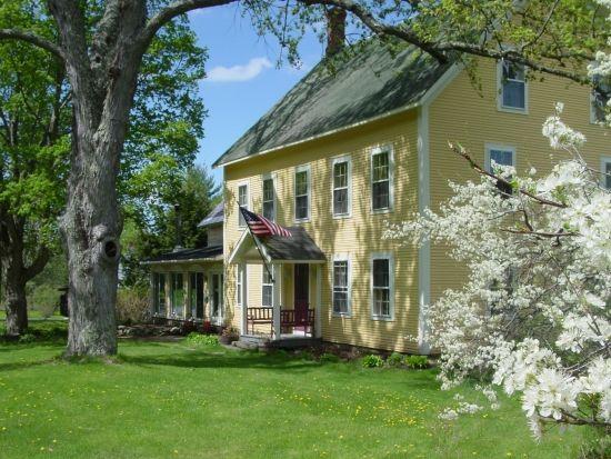 Churchill House Inn - Brandon, VT (Biking Gourmet Inn to Inn Vermont Cycling Vacation)
