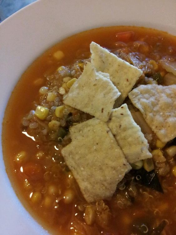 Mexican Veggie and Quinoa Soup