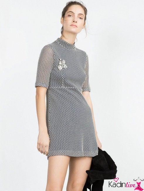 Zara Bady Doll Mini Elbise Modelleri Kadinlive Com Moda Stilleri Mini Elbise Elbise Modelleri