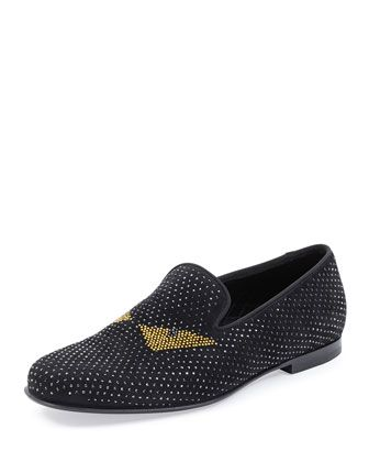 Monster Crystal Smoking Slipper by Fendi at Neiman Marcus.