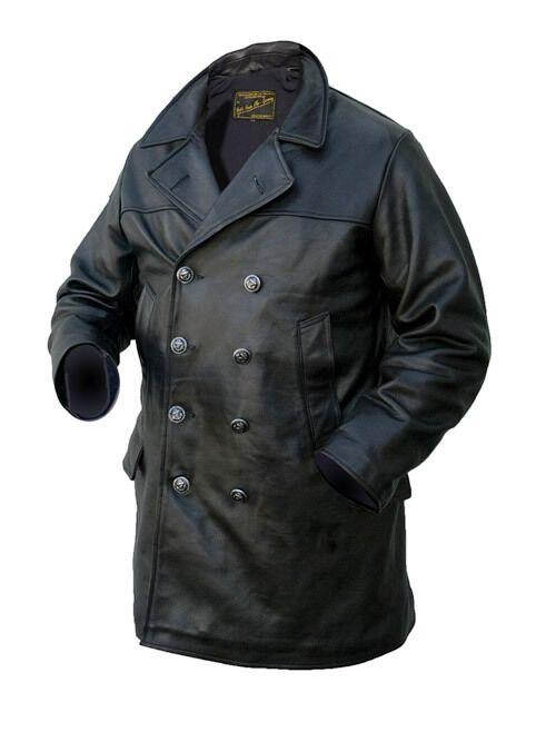 cappotto in pelle uomo offerte
