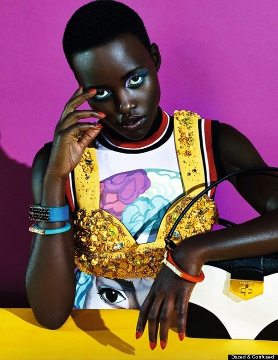 lupita nyongo, dazed and confused cover