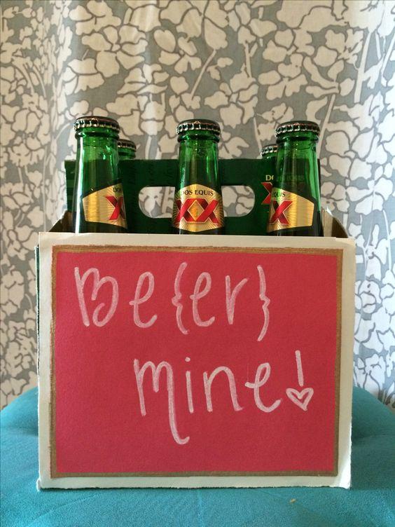 DIY valentine's gift for him