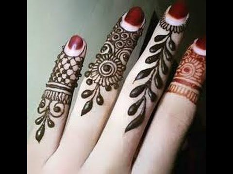 Stylish And Easy Mehndi Design Finger