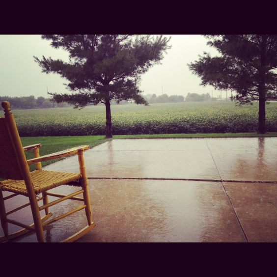 Love watchin it rain