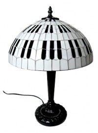 Paraplulamp Pianotoetsen Mozaiek / PL-M-HA