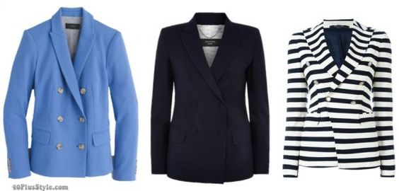 How to fit a blazer - a comprehensive guide on how to select the right blazer for you! | 40plusstyle.com