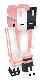Pink Hair Skin Di Minecraft Skins De Chica Para Minecraft Skins De Minecraft Minecraft Personajes