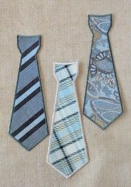 suit up iron-on ties