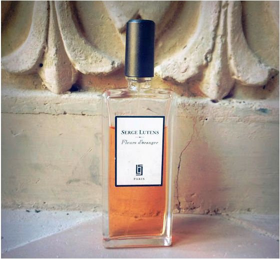 Postcard from Marrakech. Our favorite Fleur d'Oranger scent from Serge Lutens is with us by the poolside in Marrakech. See more on The Wall at www.elin-kling.com