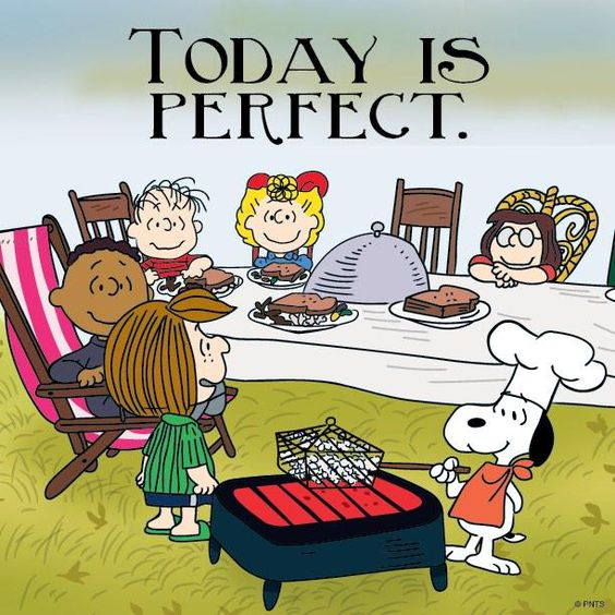 Today is perfect.