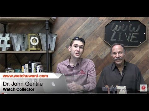 WuW Live: Collector Conversation: John Gentile On Vintage Rolex, Breitling, & More - http://LIFEWAYSVILLAGE.COM/career-planning/wuw-live-collector-conversation-john-gentile-on-vintage-rolex-breitling-more/