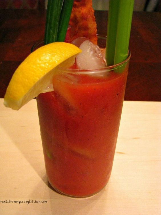 Bacon Jalapeno Bloody Mary- Bacon and jalapeno infused vodka make up this spicy Bloody Mary perfect for a get together or a weekend morning!