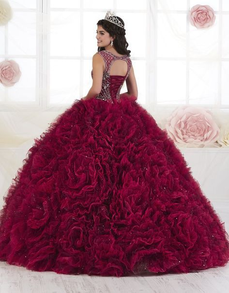 Ruffled 3 Piece Quinceanera Dress by House of Wu 26906-House of Wu-ABC Fashion