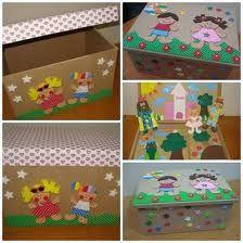 caixa decorada com EVA - Pesquisa Google