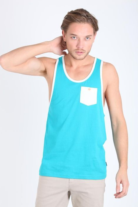 jersey contrast bind tank | Cotton On