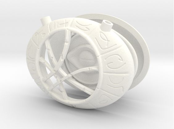 Check out Dr Strange Pendant - Eye of Agamotto by lensman on Shapeways and discover more 3D printed products in Pendants.