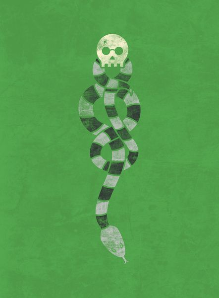 Dark Mark harry Potter poster (quilt?)