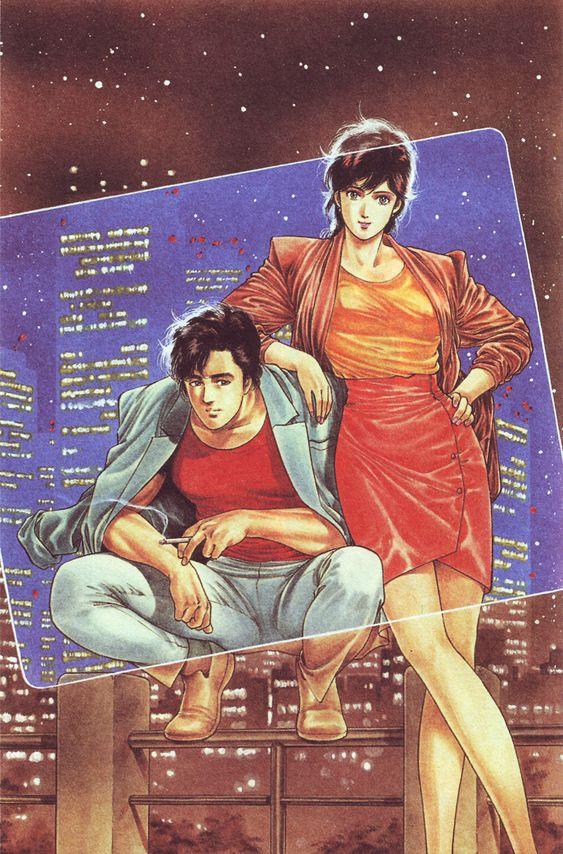 City Hunter Ryo by Tsukasa Hojo Shoujo manga ஐold