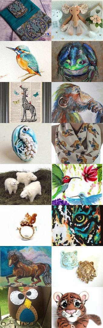 All Creatures Great And Small by Deb Wise on Etsy--Pinned+with+TreasuryPin.com