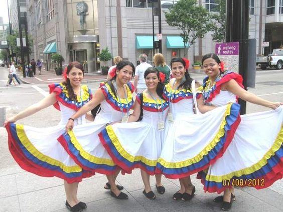 2012 World Choir Games in #Cincinnati - singers from Venezuela