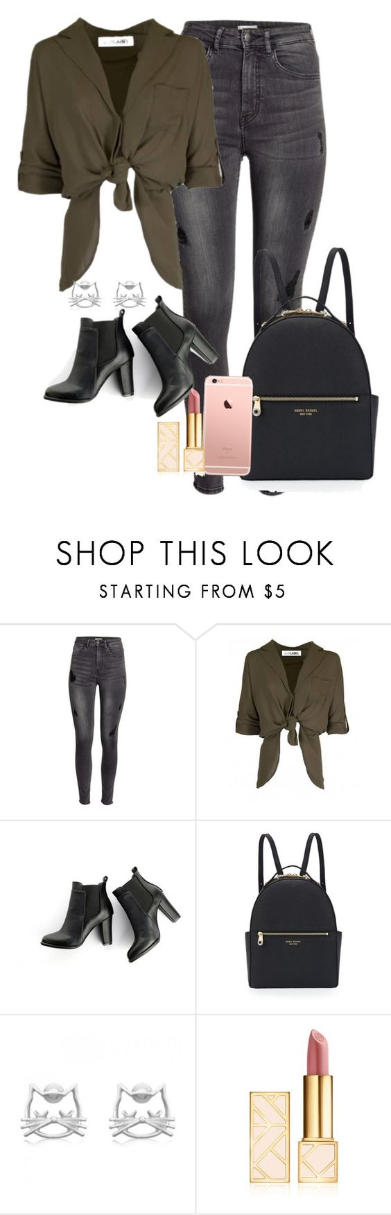 """""""Sem título #697"""" by shescyrus ❤ liked on Polyvore featuring H&M, SWEET MANGO, Henri Bendel and Tory Burch"""
