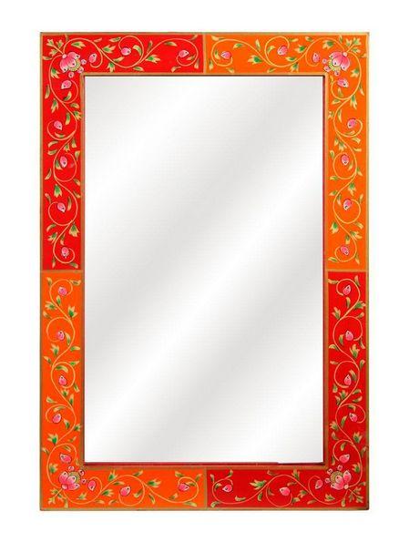 Dalani.it Specchio con cornice in legno decorato