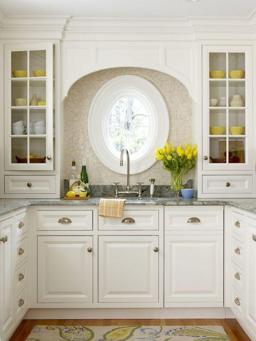 Tag For Kitchen With No Windows Decorating Ideas : Room Design Ideas Window Trea..., #Decora... In 2020 | Kitchen Design Small, Kitchen Design, Home Kitchens