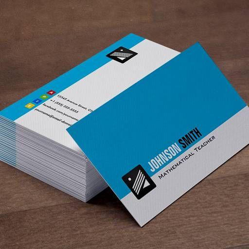 The Most Popular Plain Minimalist Business Cards   Bizcardstudio.co.uk