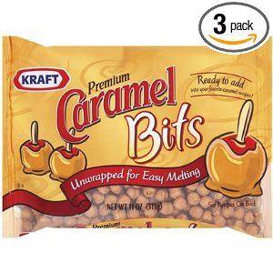 Kraft, Caramel Bits, 11oz Bag.   No more unwrapping!!!